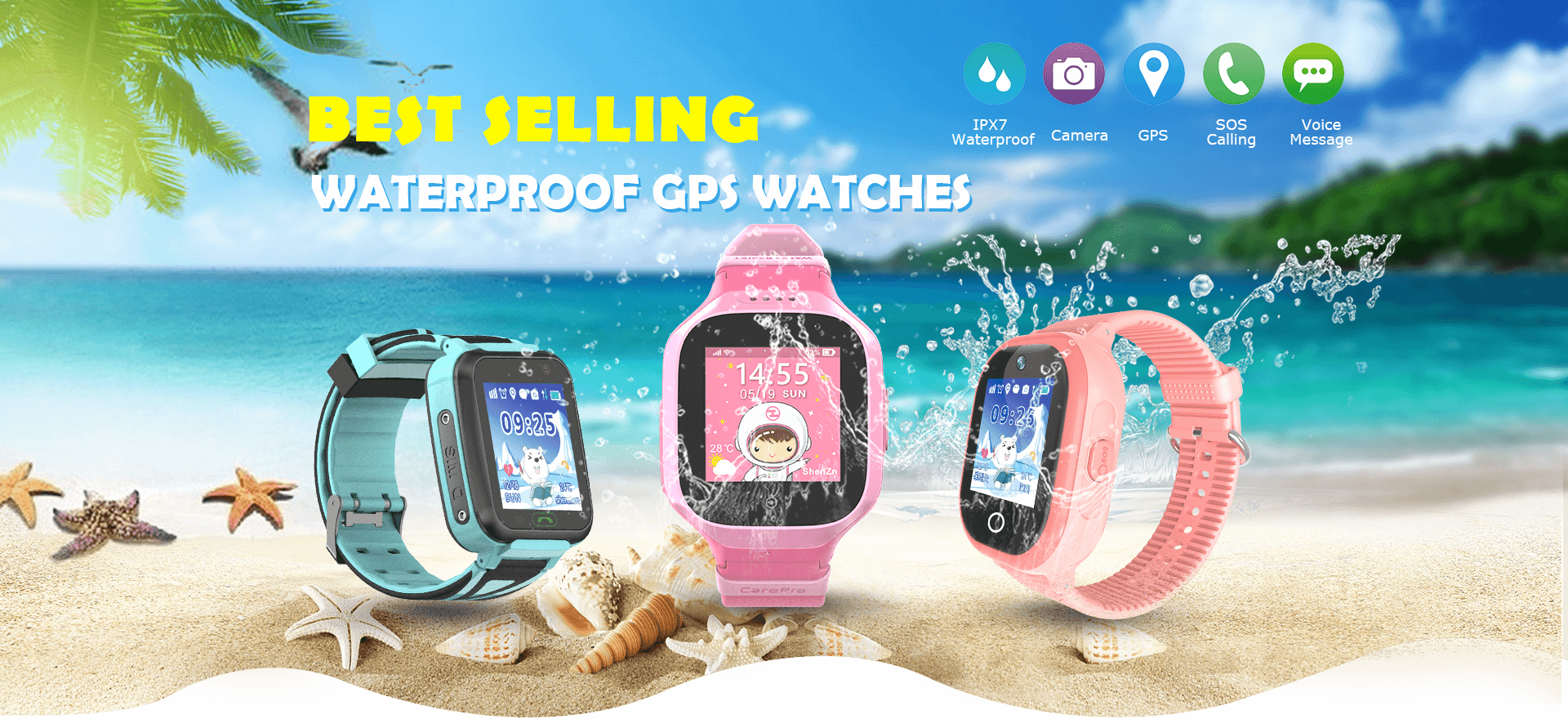 Waterproof Kids Smartwatch