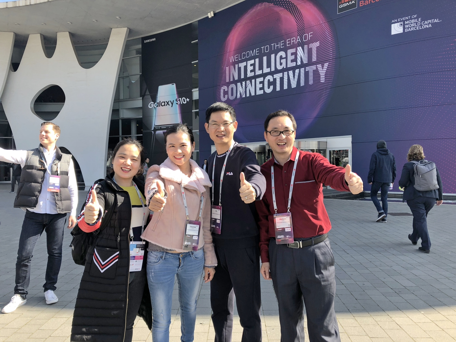 Come join us at MWC Barcelona 2019