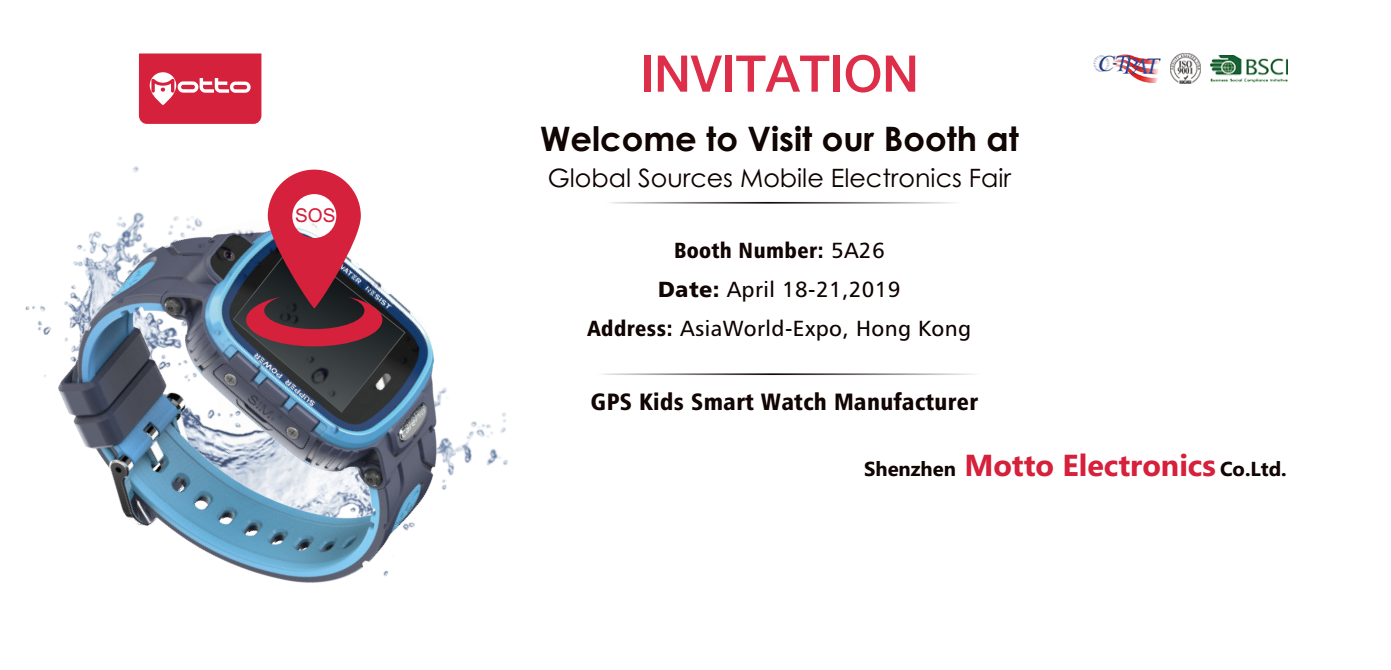 Profesional GPS smart watch Exhibition
