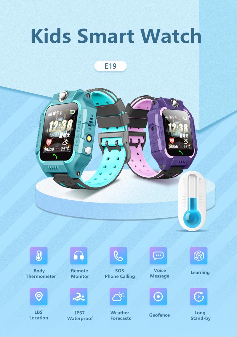 Kids Smartwatch E19