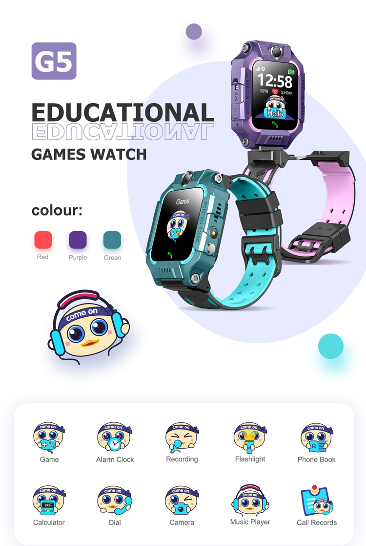 Kids Game Watch G5