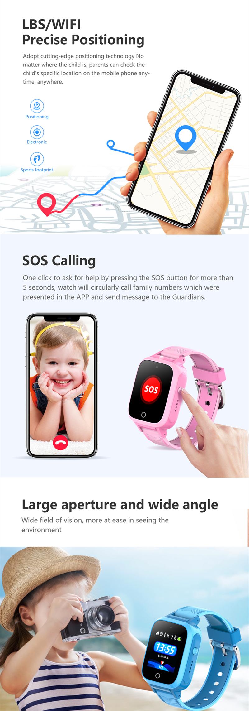 Kids Smartwatch TD-37