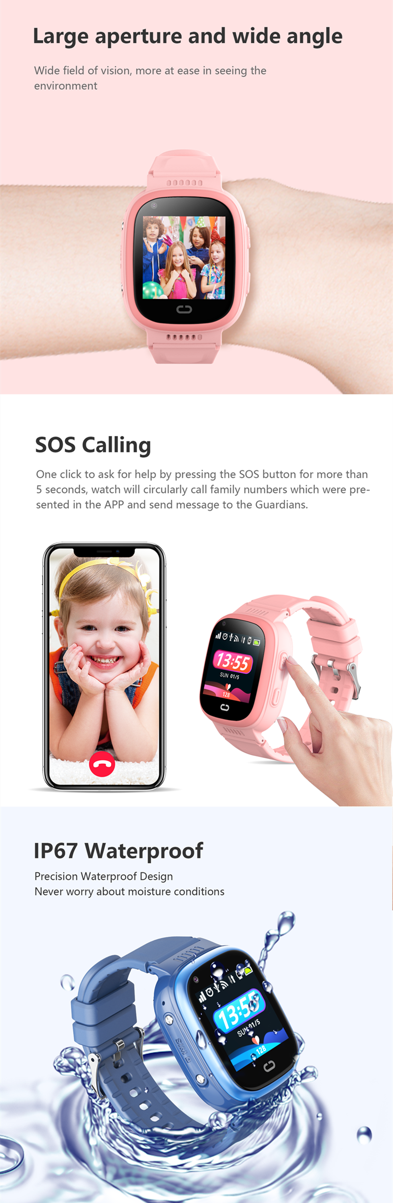 Kids Smartwatch LT08