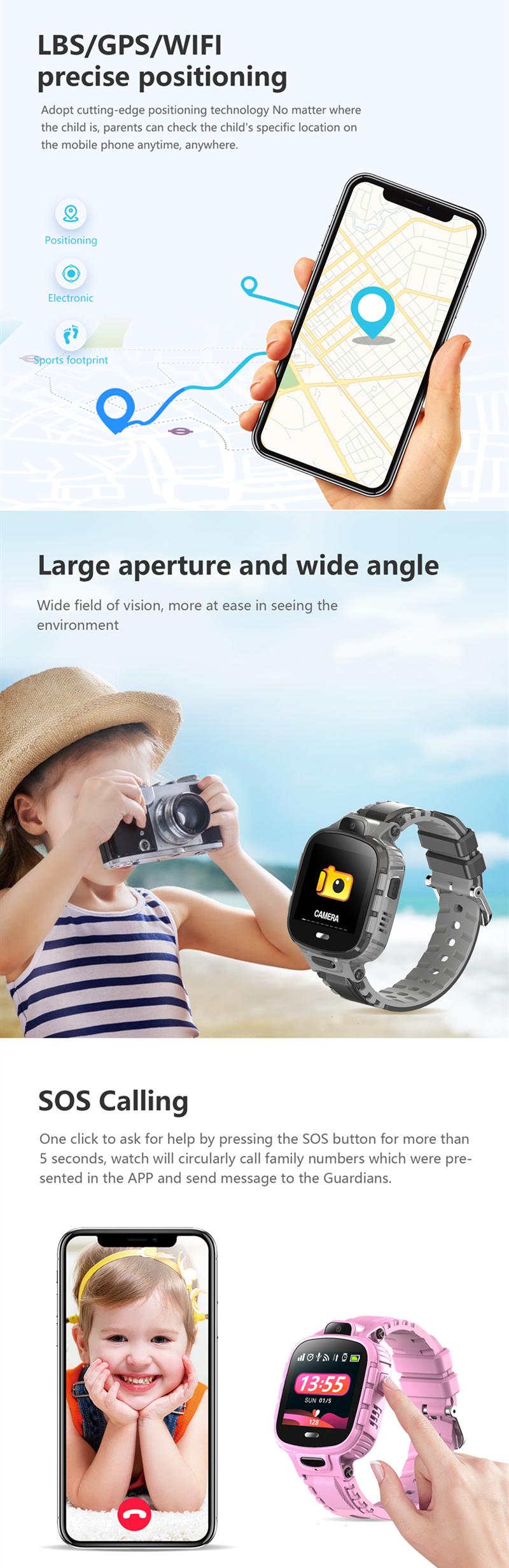 Kids Smartwatch TD-26