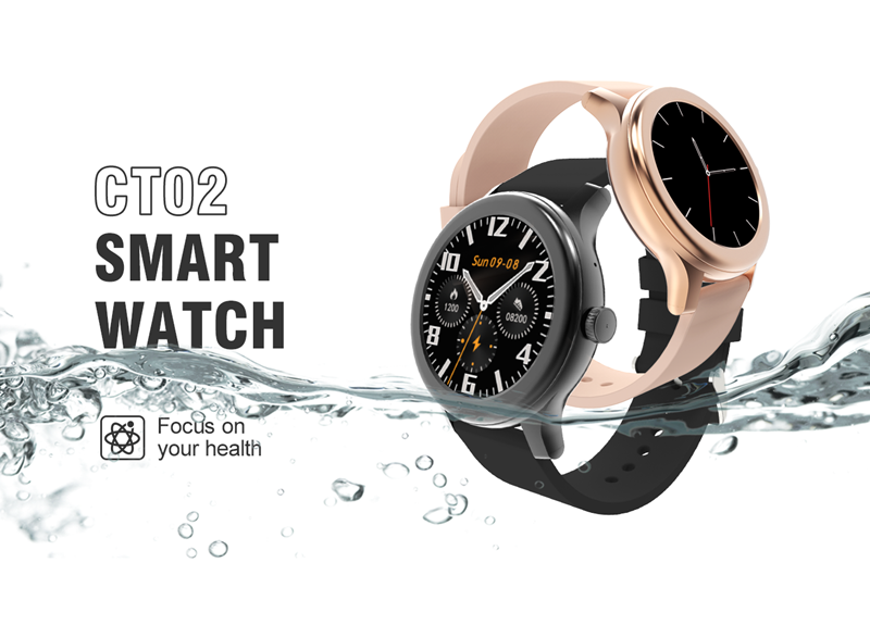CT02 Bluetooth smart watch