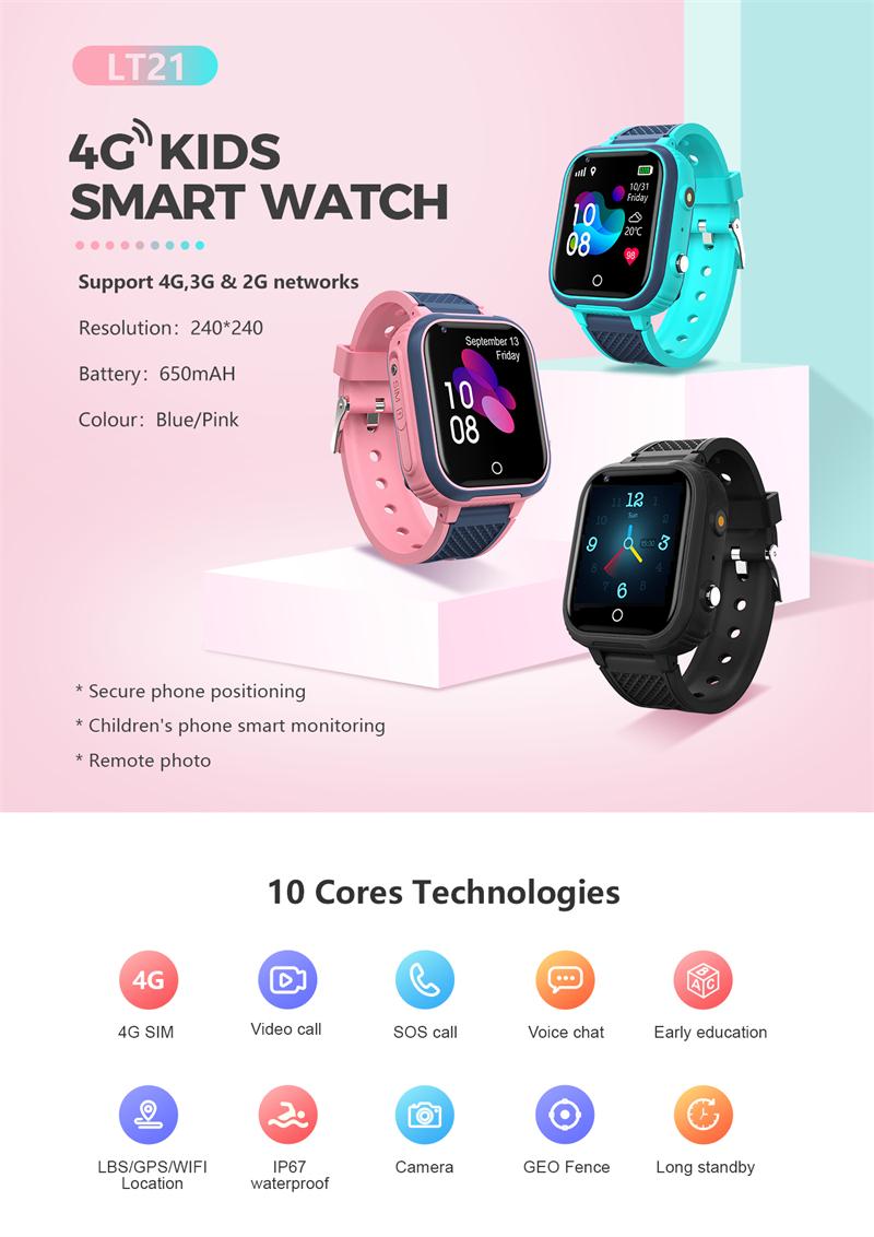 4G Video Call Watch LT21